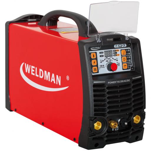 Weldman POWER TIG 200 AC/DC PULS