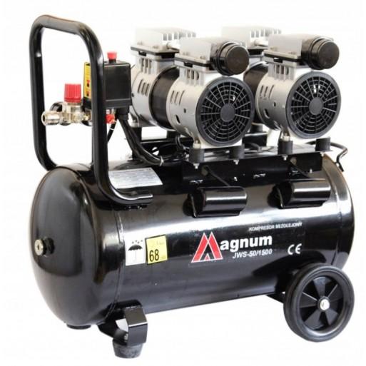 Kompresor bezolejowy, wyciszony MAGNUM JWS 50